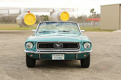 1968 Ford Mustang Base Convertible 1968 Ford Mustang Base Convertible 289 V8, Automatic, Very Clean 1 Owner car