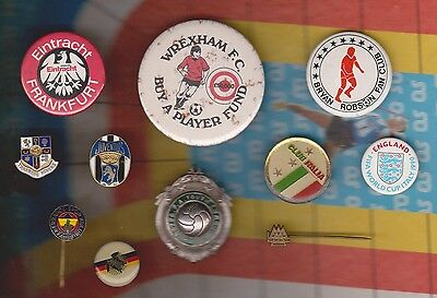 Collection of Football Badges and Notts County Football Medal