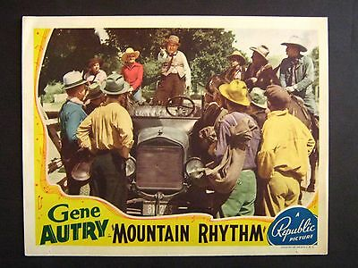 Mountain Rhythm '39 Gene Autry On Champion Next To Model T Ford Western Lc