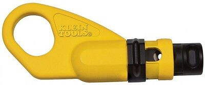 Klein Tools 2-Level RG6 Coaxial Cable Stripper Compact Coax Hand Tool New