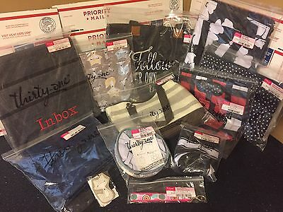 Huge lot of Thirty One NIP some retired 12 items total all NIP - Fast Free Ship