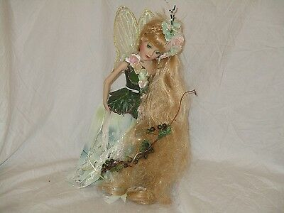Vintage 17 inch Tinkerbell Doll with stand