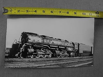 Union Pacific 1956 4-6-6-4 #3964 Train Photograph Challenger Cheyenne WY