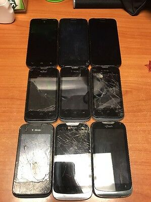 Hawaii Lot Of 18 GSM/CDMA - For Parts Or Not Working