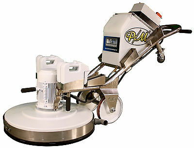 Hat Trick 800 30-inch Planetary Grinder and polisher- stone restoration