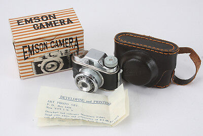 EMSON HIT CAMERA, WITH CASE AND BOX, NON-WORKING/cks/189677