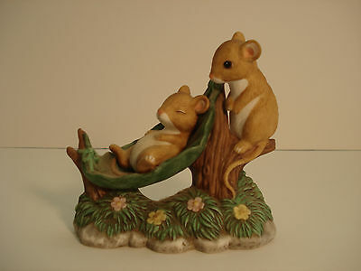 Home Interiors & Gifts Tiny Tales Mice Naptime # 14751-98