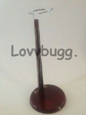 """Quality Wood Doll Stand for 14"""" to 18"""" American Girl LOVVBUGG ACCESSORIES!"""
