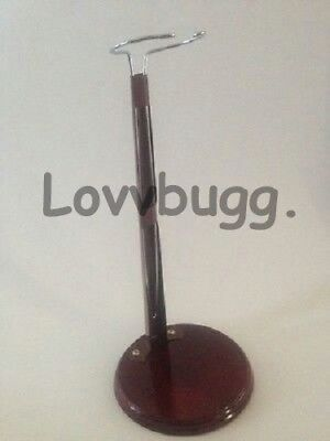 """Top Quality Wood Doll Stand for 14"""" to 18"""" American Girl Lovvbugg! Wow Variet"""