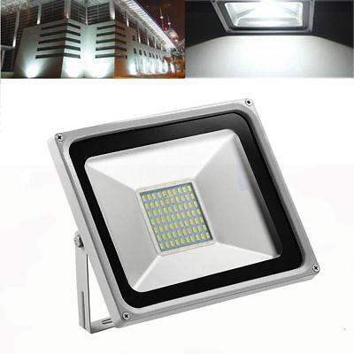 2X 30W LED PIR Motion Sensor Flood light Warm White lamp Security Spotlight 240V