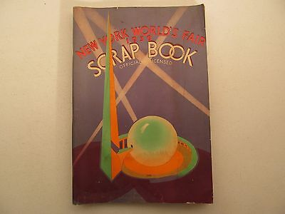 1939 New York Worlds Fair Scrap Book Saafield 2230