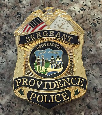 Police Sergeant Theatrical Prop Badge