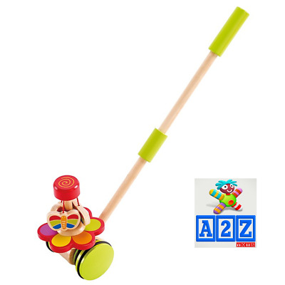 Hape Push Pal Garden Butterfly