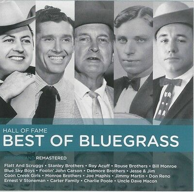 HALL OF FAME Best Of Bluegrass - Various Artists CD *NEW* 2017