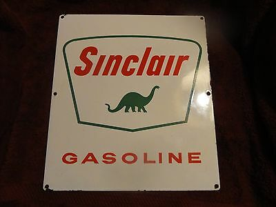 Vintage Porcelain Sinclair Gasoline Pump Original  Sign