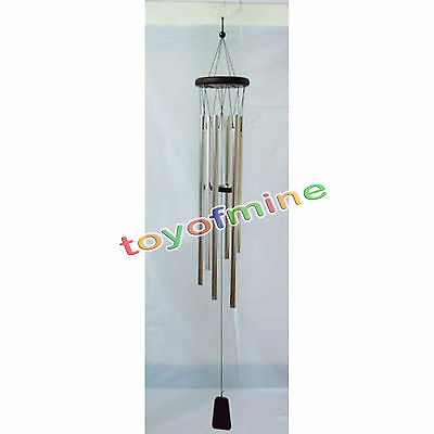 large Deep Tone resonant gong bass sound Chapel CHURCH BELL Windchime Wind Chime