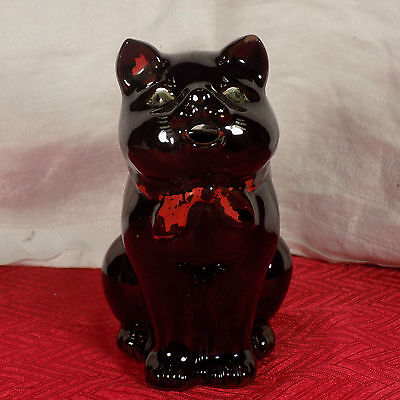 Vintage Cat Creamer Pitcher Hand Painted Unmarked