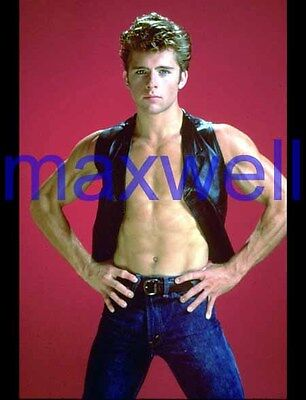 MAXWELL CAULFIELD #3148,BARECHESTED,SHIRTLESS,studio photo,DYNASTY,THE COLBYS