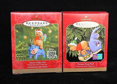 Hallmark Ornaments Disney Presents From Pooh Eeyore Helps Out Winnie the Pooh