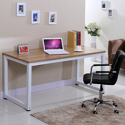 Modern Style Wooden Color Computer Laptop PC Home Office Desk / Study Table