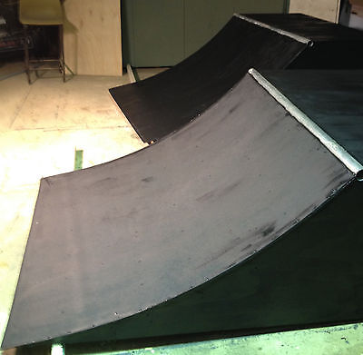 Quarterpipe Skateboard Ramp 2 Foot High 4 Ft Wide