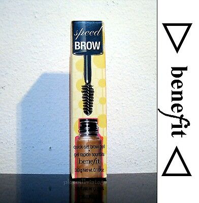 New Speed brow Benefit 3.0g net wt 0.10oz Neutral color tint tame & set eyebrows