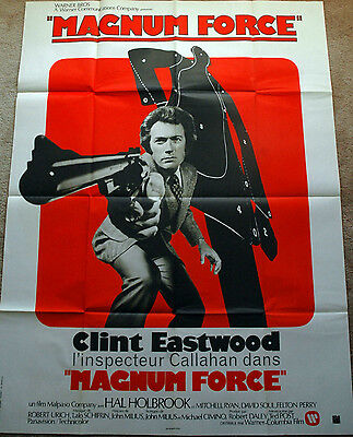 Clint Eastwood - Magnum Force - large 47 x 63 inch poster