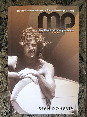 SURFING BOOK - MP The Life of MICHAEL PETERSON Surfing Cult Hero