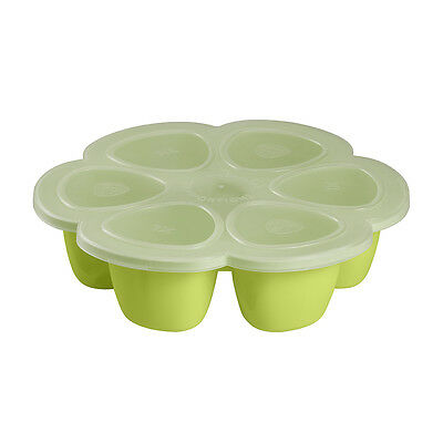 Beaba Baby Food Storage Containers| Beaba Silicone Multiportions - Neon - 150ml