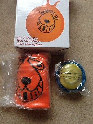 Retro Space hopper. New In Box With Foot Pump