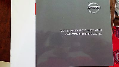 Genuine Nissan Service History Book For Petrol And Diesel Blank New