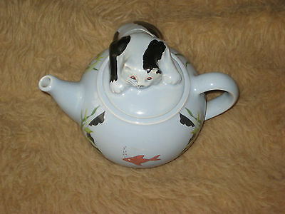 Wade Whimsical Teapots Feline Collection
