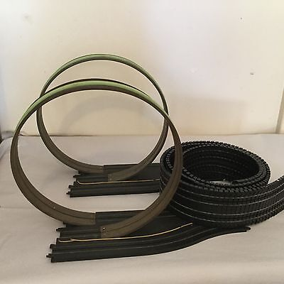 Scalextric track accessories x2 loops afx slot cars