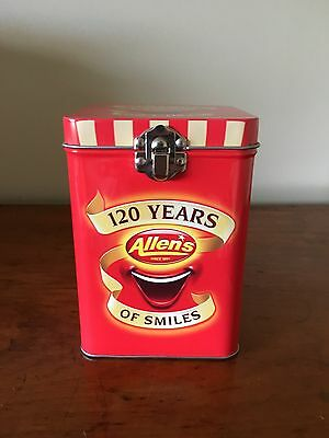 Allens Lollies 120 Years Of Smiles Tin