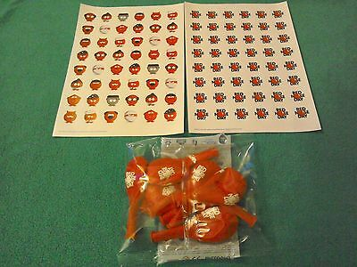 Comic Relief Red Nose Day 2017 Stickers  X 96 & Balloons  ~**~ Brand New ! ~**~