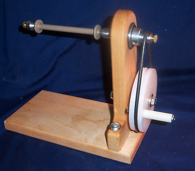Wooden Bobbin Winder - Self Centering  - Ashford etc. -