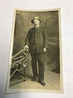 Vintage collectable real photo postcard