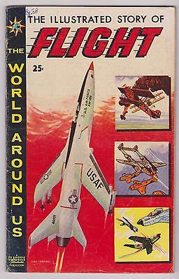 World Around Us #8 featuring The Illustrated Story of Flight, Very Good Cond.