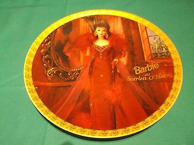 Enesco 1996 Limited Edition Barbie As Scarlett O'Hare Plate  FREE SHIPPING