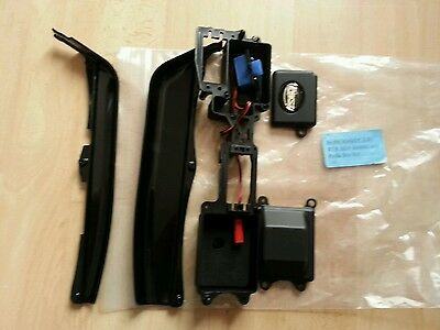 Losi 8IGHT  2.0   Radio Tray  &  battery tray side guards & switch .