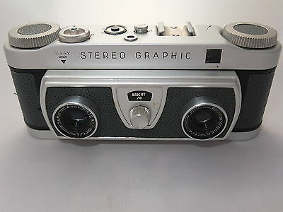 Rare Vintage Wray Stereo 35mm film camera, complete with leather case
