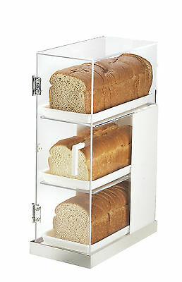 Cal-Mil Luxe 3 Tier Bread Box Frost Display