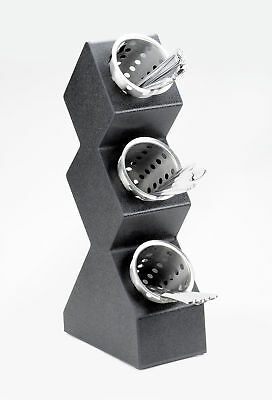 Cal-Mil 3 Compartment Vertical Spacesaver Cylinder Display