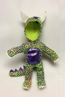 Kelly Tommy Doll Clothes Halloween Party Dragon Costume Green & Purple Mattel