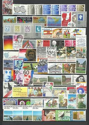 Netherlands. Collection of 130 different MNH stamps.