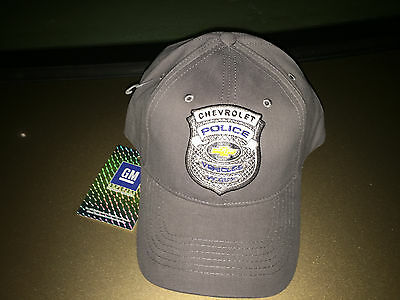 New Gm Chevrolet 9C1 9C3 Police Car Baseball Cap Ppv Impala Caprice Tahoe