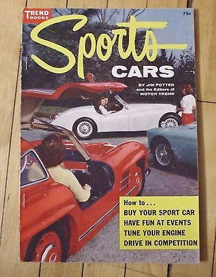 1956 Trend Book No. 130 Sports Cars Facts and Racing Sports Cars 120 Pages