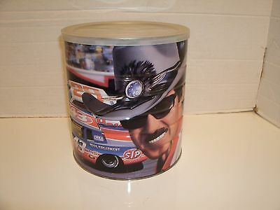 1990's Richard Petty 39 OZ MAXWELL HOUSE COFFEE TIN NASCAR Can