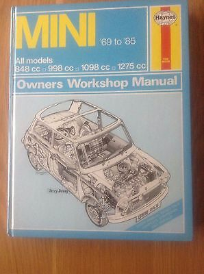 Haynes Mini Owners Workshop Manual 69-85 In Virtually New and Clean Condition