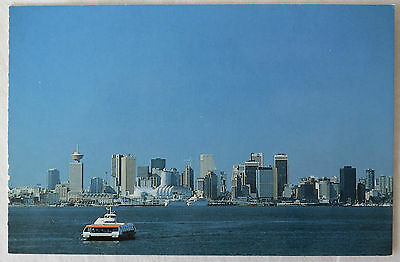 Postcard Canada. Harbour & Canada Place Vancouver, British Columbia. Unposted